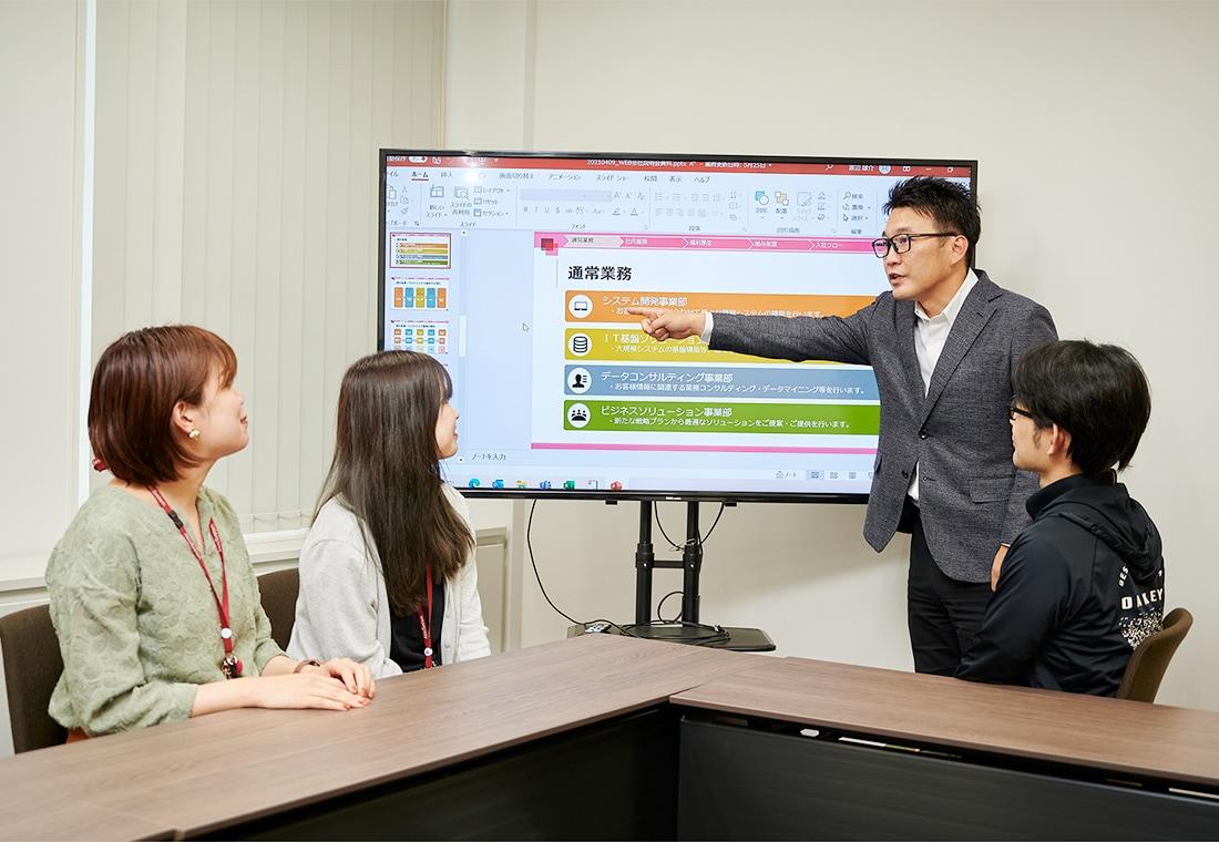 画像:勉強会の開催